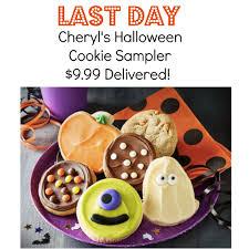 LAST DAY- Cheryl's Halloween Cookie Sampler Just $9.99 Delivered