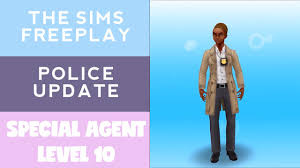 Sims Freeplay Halloween 2014 by The Sims Freeplay Police Update Special Agent Level 10 My Vids