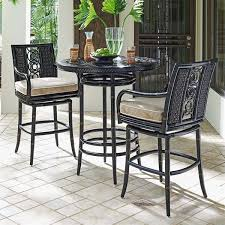 Bar Height Bistro Patio Set by The Most Alfresco Home Patio Furniture Oasis Pools Plus Of