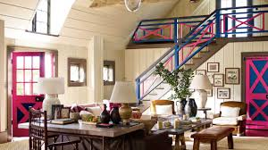 Southern Living Family Rooms by Barn Decorating Ideas Farm Barn Turned Posh Hang Out Southern