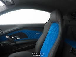 Neidfaktor Pimps Out Audi R8 V10 Plus With Blue & Black Interior