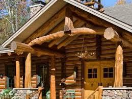 les fustes des maisons en rondins de bois par home and garden