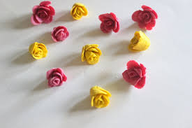 Paper Craft Flower Making