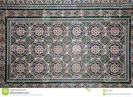 set of traditional islamic moorish ceramic tiles plaza de