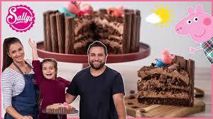 peppa wutz matschepfutzekuchen schokoladen torte mit ela