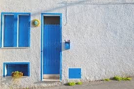 100 Beautiful White Houses Blue And White Houses By SkyBlue Images Door