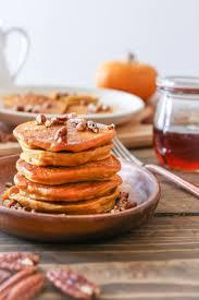 Easy Pumpkin Pancake Recipe by Gluten Free Pumpkin Pancakes With Cinnamon Bourbon Syrup The