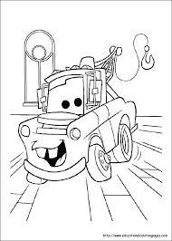 Windows Coloring Pages For Disney Cars Movie About Kids