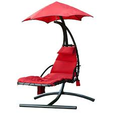 Patio Umbrella Base Menards by Backyard Creations Hanging Hammock Lounger At Menards