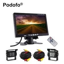 Podofo Dual Backup Camera 7″ LCD Car Rear View Monitor Kit For RV ... Chevrolet And Gmc Multicamera System For Factory Lcd Screen 5 Inch Gps Wireless Backup Camera Parking Sensor Monitor Rv Truck Backup Camera Monitor Kit For Busucksemitrailerbox Ebay Cheap Rearview Find Deals On Pyle Plcm39frv On The Road Cameras Dash Cams Builtin Ir Night Vision Rear View Back Up Amazoncom Cisno 7 Tft Car And Mirror Carvehicletruck Hd 1920 New Update Digital Yuwei System 43