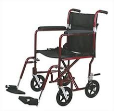 Bariatric Transport Chair 24 Seat by Wheelchairs Karman Transport Wheelchair With Companion Brakes 16