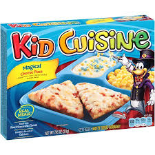 cuisine pizza kid cuisine magical cheese pizza frozen dinner 7 45 oz box food