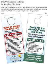 100 Truck Paper Florida Recycling Pilot Program Analysis Due By November News