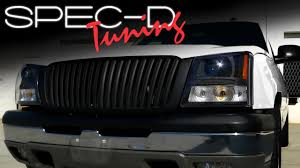 SPECDTUNING INSTALLATION VIDEO: 2003 - 05 CHEVROLET SILVERADO ... 2015chevysveradohdcustomsportgrille The Fast Lane Truck Eternity Custom 2002 Chevy Silverado Photo Image Gallery Status Grill Accsories New Grille Options For The Chevrolet 1500 Bumper Ebay 07 Tahoe Black Billet Grille And Headlight Covers 2500hd Questions Does Anyone Make A Custom How To Install Trex Torch Youtube Mytightridecom Trex Join Dominate Automotive Billet 2014 Grilles Available Now Stillen
