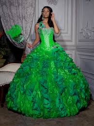 quinceanera dresses lime green and blue naf dresses