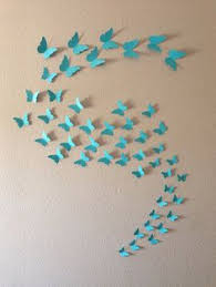 Contemporary Stickers Diy Butterfly Wall Art Handmade Premium Wonderful Unique Decoration High Quality Material This