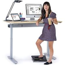 Ergotron Sit Stand Desk by Ergotron Mvbd48ss Elevate 48 Electric Sit Stand Desk