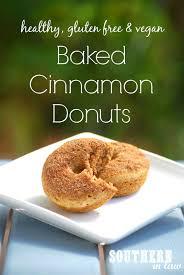 Panera Pumpkin Bagel Vegan by Recipe Healthy Vegan Baked Cinnamon Donuts Donut Recipes Low
