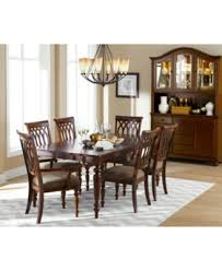 crestwood 7 piece dining room furniture set furniture macy s