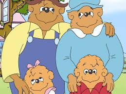 Papa Bear And Mama Top Row Sister Brother Bottom
