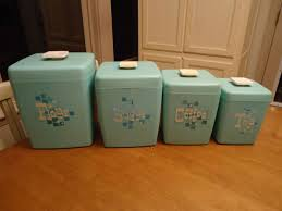 Turquoise Kitchen Canister Sets by 1276 Best Canister Sets Images On Pinterest Kitchen Canisters