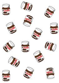 Cute Iphone Wallpapers With Hand Drawn Nutella Jars