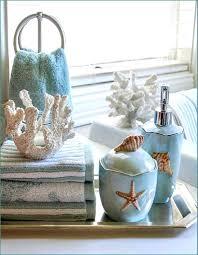 beach themed bathroom accessories hondaherreros com