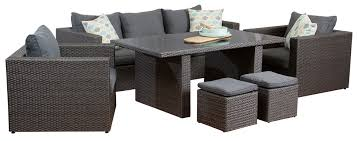 patio sofa dining set pacific 3 seat dining sofa set outdoor lounge segals outdoor