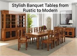 Stylish Banquet Tables From Rustic To Modern - Encarnacion Ding Chair Sold Out Henkel Harris Mahogany Queen Anne Chairs Set Of 6 Rustic Circular Farmhouse Shabby Chic Ding Table 4 Vintage Chairs Local Delivery In Hammersmith Ldon Gumtree Evolution Seven Piece With By Legacy Classic At Lindys Fniture Company Rooms Cherie Rose Collection Tone On Duncan Phyfe Painted Regency Table Suite Ebay Im So Doing This Someday To My Set Painted White Queen Anne Andersen Stauffer Makers Seating Pladelphia Lavinia Double Extension Double Extension 31m In Stock Room Cloth Homesfeed