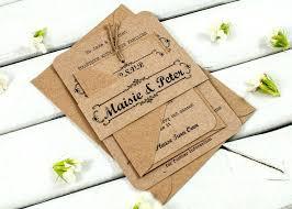 Rustic Wedding Invitation Bundle Wording Ideas