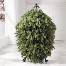 Pre Lit Christmas Tree Rotating Stand by Christmas Flip Trees The Green Head
