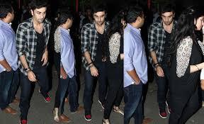 Celeb spotting Ranbir Kapoor Abhay Deol Shahid Kapoor party