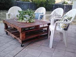 DIY Outdoor Table And Chairs