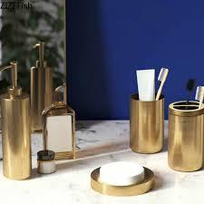 edelstahl bad lieferungen lotion flasche zahnbürste tasse