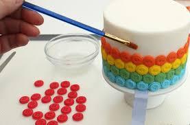 cake decorations rainbow button cake decorations goodtoknow