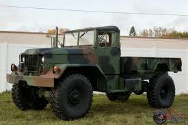 100 5 Ton Military Truck 1968 Kaiser Jeep M4A2 Multifuel Bobbed M3 4x4