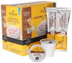 Pumpkin Spice Caramel Macchiato by Amazon Com Gevalia Caramel Macchiato Espresso Coffee With Froth