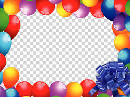 Birthday Balloons and Gifts DamianMcgintyFanBlog Download Video Effects Frames
