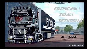 100 Euro Trucks Truck Simulator 2 Sral Set Korna Modu 8li