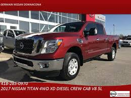 Used Nissan Titan XD 4WD XD DIESEL CREW CAB SV 4X4 For Sale ... Fairbanks Used Nissan Titan Vehicles For Sale 2014 4x4 Colwood Cart Mart Cars Trucks 2017 Truck Crew Cab For In Leesport Pa Lebanon Used Nissan Titan Sl 4wd Crew Cab Truck For Sale 800 655 3764 2010 Xe At Woodbridge Public Auto Auction Va Iid 2006 Se Stock 14811 Sale Near Duluth Ga New 2018 San Antonio Car Dealers Chicago 2016 Xd Vernon Platinum Reserve 4x4 Wnavigation