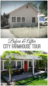 Faux Farmhouse fixer upper in the city house tour