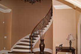 How Much Will It Cost To Replace My Staircase? 1000 Ideas About Stair Railing On Pinterest Railings Stairs Remodelaholic Curved Staircase Remodel With New Handrail Replacing Wooden Balusters Spindles Wrought Iron Best 25 Iron Stair Railing Ideas On Banister Renovation Using Existing Newel Balusters With Stock Photos Image 3833243 Picture Model 429 Best Images How To Install A Porch Hgtv