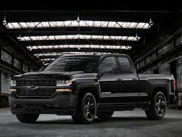 2017 Chevy Silverado Special Editions Available At Don Brown ... White Black Chevy Silverado Gallery Photos Rocky Ridge Lifted Truck Chevrolet Trucks Back In Black For 2016 Kupper Automotive Group News Chevrolet Trucks Pinterest 2013 Sema Concept The Wheel Back In For Special Edition 85 Custom Designs Greattrucksonline Wheels And Tires 18 19 20 22 24 Inch Intros Realtree A Z71 Model With