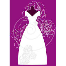 White wedding dresses digital clip art set bride bridal clipart for bridal shower wedding invitation JPG PNG EPS instant