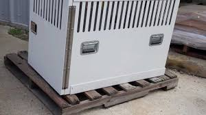 Portable Generator Shed Plans by Aluminum Enclosures Bison Profab Youtube