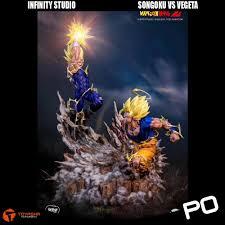 100 Studio Son Infinity Goku Vs Vegeta