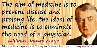 Ashley Montagu Quote The Aim Of Medicine