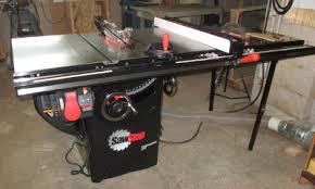 sawstop table saw i3detroit