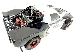 King Motor RC X2 4WD Short Course Truck 34cc (black/white)