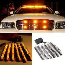 54 LED Car Truck Strobe Emergency Warning Strobe Lights Bars Deck ...